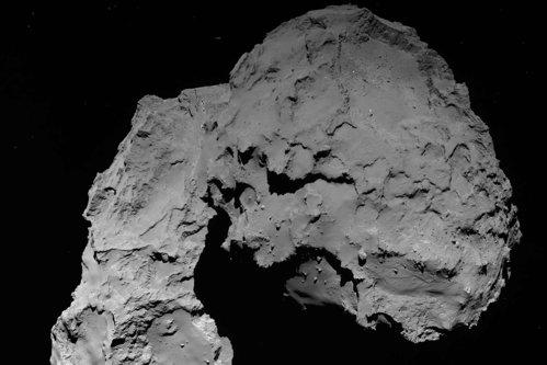 Un vânător de OZN-uri susţine că pe o cometă fotografiată de o sondă spaţială se ascund două nave extraterestre - FOTO, VIDEO