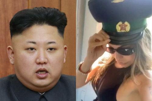 """O tânără s-a destrăbălat în Coreea de Nord, chiar sub nasul lui Kim Jong-un / Modelul a consumat alcool şi s-a dezbrăcat într-un hotel din Phenian, apoi """"s-a luat"""" de un soldat - FOTO"""