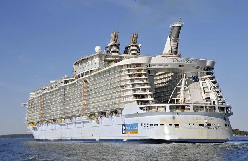 TOP 10: cele mai MARI vase de croazieră din lume. Au împreună 1,5 milioane de tone