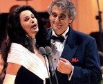 Angela Gheorghiu şi Placido Domingo vor cânta la O2 Arena din Londra