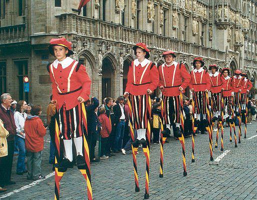 Belgienii vin pe picioroange la Sibiu