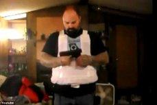 VIDEO. Cât curaj îţi trebuie să testezi pe propria piele o vestă anti-glonţ