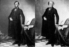Portretul lui Abraham Lincoln, probabil prima fotografie modificată din istorie