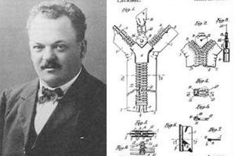 """LOGO GOOGLE. Gideon Sundback a inventat FERMOARUL, dar nu şi denumirea de """"fermoar"""""""