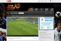 YouTube va difuza cele mai bune competiţii fotbalistice din lume pe un canal special