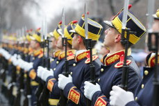More Than 2,000 People Attending Romanian National Holiday Parade In Bucharest