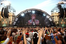 "I've been to the Bon Jovi concert in Bucharest and I second what Jon wrote on his Facebook page: ""AMAZING!"""