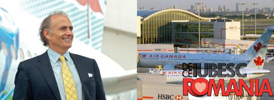 DE CE IUBESC ROMÂNIA. Cât de român mai este Călin Rovinescu, şeful Air Canada, omul cu un salariu de UN MILION DE EURO PE AN, plus bonusuri