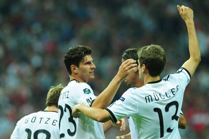 EURO 2012. GERMANIA învinge PORTUGALIA cu 1-0 prin golul marcat de Gomez