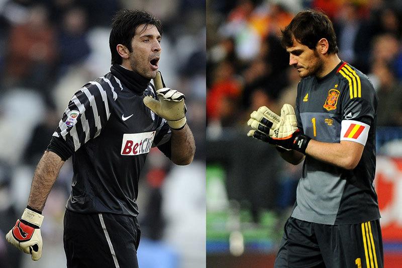 Spania - Italia, LIVE LA EURO 2012- duelul celor mai buni portari din lume