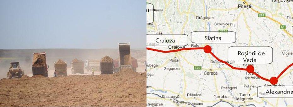 AUTOSTRADA SUDULUI, un nou vis al infrastructurii româneşti. Pe unde ar putea trece, când ar putea fi gata şi care ar fi investiţia