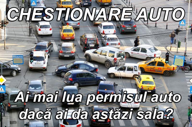 CHESTIONARE AUTO - Ai mai lua permisul auto dacă ai da astăzi sala? 5 chestionare care te vor(...)