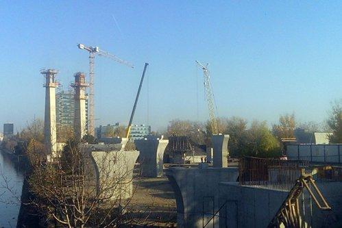 Când va fi gata Pasajul Ciurel, care trebuia finalizat în 2012