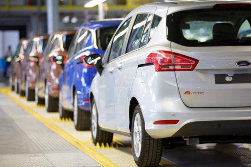 Sfârşit de drum pentru Ford B-MAX la fabrica de la Craiova