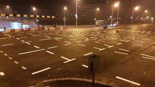 Ce se va întâmpla cu marcajele rutiere din intersecţia din Timişoara, devenită celebră în toată lumea