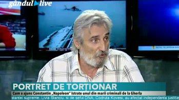 """PORTRET DE TORŢIONAR: Unde l-a găsit Gândul pe Constantin """"Napoleon"""" Istrate,  unul din marii criminali de la Gherla - Gândul LIVE"""