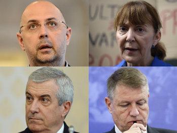"""Gândul LIVE """"Best of Candidaţi"""": Iohannis, Macovei, Tăriceanu şi Kelemen. De la """"Ghinion!"""" la """"Mireasa lui Cristos"""""""