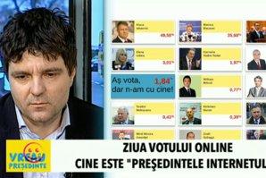 """Dezbatere """"VREAU PREŞEDINTE"""". Editorialiştii Gândul şi challengerii vreaupresedinte.ro au comentat ultimele zile de campanie şi rezultatele zilei votului online"""