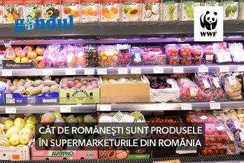 Cât de româneşti sunt alimentele pe care le cumpărăm de la raft. Dezbatere Gândul LIVE