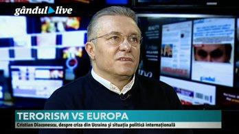 Cristian Diaconescu, invitat special la Gândul LIVE: Care sunt armele cu care Europa ar trebui să lupte împotriva terorismului