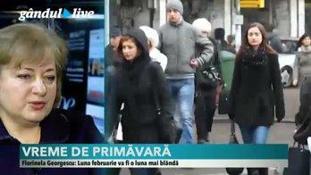 METEO. Cum va fi VREMEA în România în luna februarie.  Florinela Georgescu (ANM) are veşti bune pentru pasionaţii sporturilor de iarnă