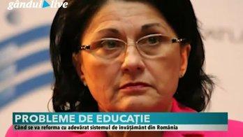 Cine poate reforma învăţământul românesc. Răspunsul Oanei Moraru, consultant educaţional, la Gândul LIVE 17 aprilie