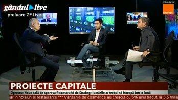 Sorin Oprescu, la Gândul LIVE,  despre obligaţiunile lansate de Municipalitate, proiectele Bucureştiului şi o nouă candidatură la Primăria Generală