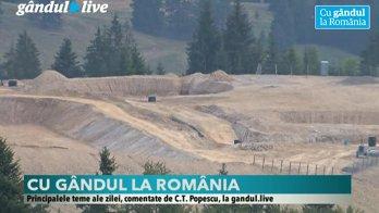 """Gândul lansează campania-eveniment """"CU GÂNDUL LA ROMÂNIA"""". Dezbatere specială Cristian Tudor Popescu şi Claudiu Pândaru"""
