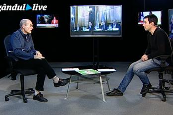 """Cristian Tudor Popescu, la Gândul Live: """"România funcţionează pe baza relaţiilor personale"""""""