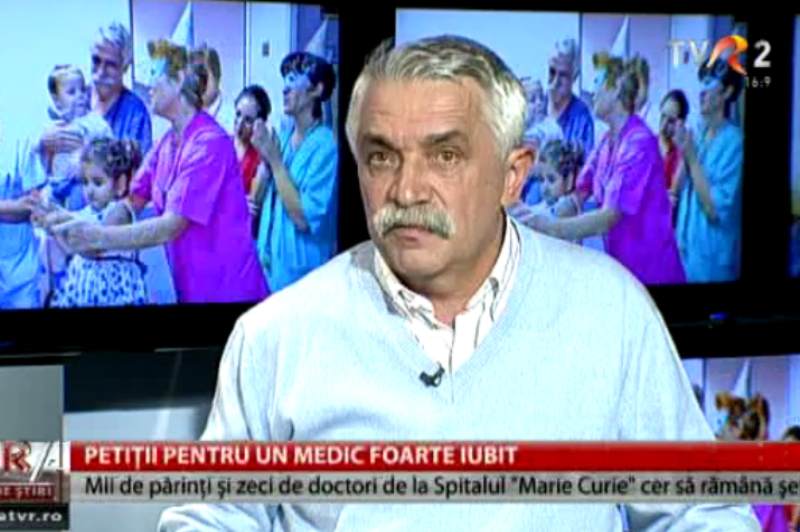 """Conducerea Spitalului Marie Curie a decis că medicul pentru care părinţii au ieşit în stradă nu va fi înlocuit. Manager: """"Eu vreau să îl păstrez, ce Dumnezeu, suntem nebuni?"""" UPDATE"""