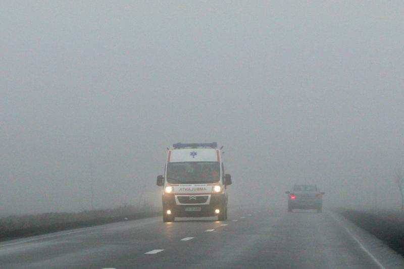 VREMEA. Cod galben de ceata �n sudul tarii