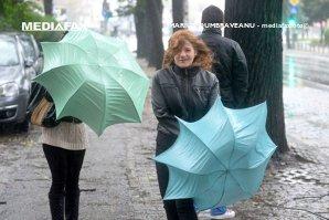 VREMEA. Informare METEO de ploi - HARTA ANM