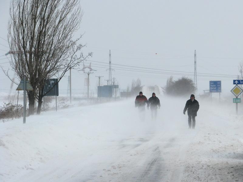 Cod galben de ger în Moldova, Muntenia, Oltenia: temperaturile scad până la -20 de grade Celsius