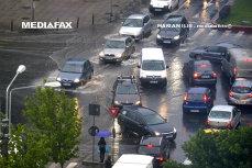 Cod GALBEN şi PORTOCALIU de ploi abundente. HARTA ANM a judeţelor vizate