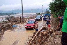 Cod galben de inundaţii în 11 judeţe până la ora 24:00