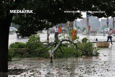 Cod galben de ploi torenţiale şi vijelii. Lista celor 18 judeţe afectate