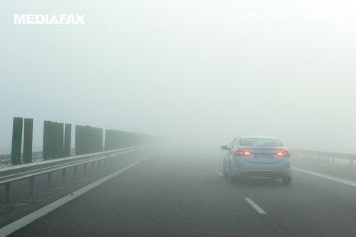 ALERTĂ METEO. Cod galben de ceaţă în mai multe localităţi