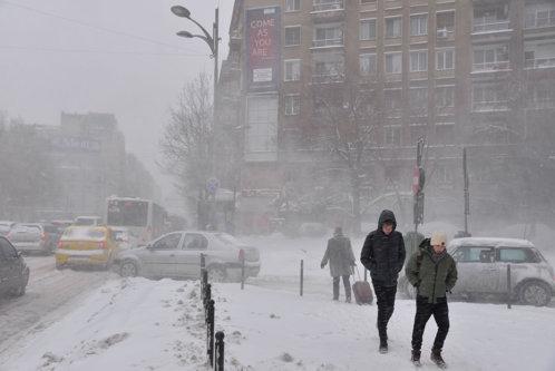România va fi acoperită de îngheţ. Avertisment ANM: Când îşi va intra iarna în drepturi