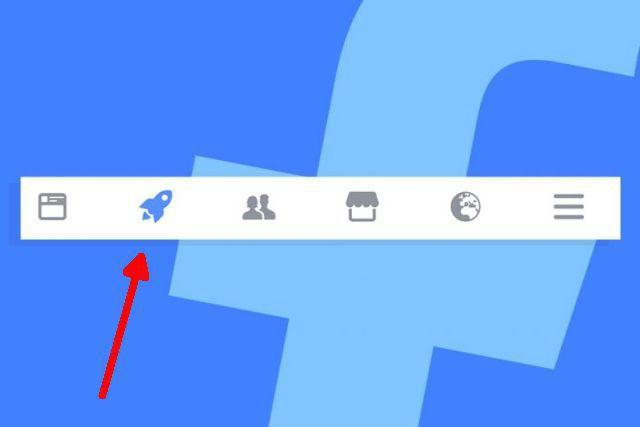 La ce e bun butonul în formă de rachetă de pe Facebook