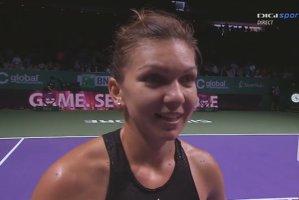 SIMONA HALEP - SERENA WILLIAMS, FINALA TURNEULUI CAMPIOANELOR. SIMONA HALEP va urca pe locul 3 WTA