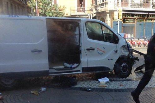 Atentat la Barcelona. Primele imagini după atac