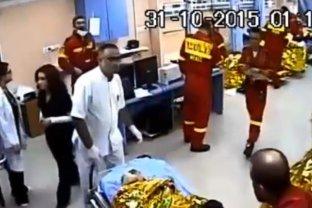 Imagini NEDIFUZATE până acum după tragedia din Colectiv. VIDEO de pe camerele de supraveghere de la Spitalul Floreasca
