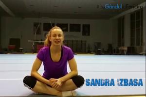 Sandra Izbaşa: ''Sunt fericită atunci când primesc o floare fără motiv''