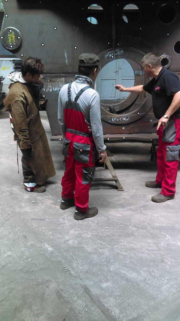 Muncitori din Vietnam la Cluj Napoca