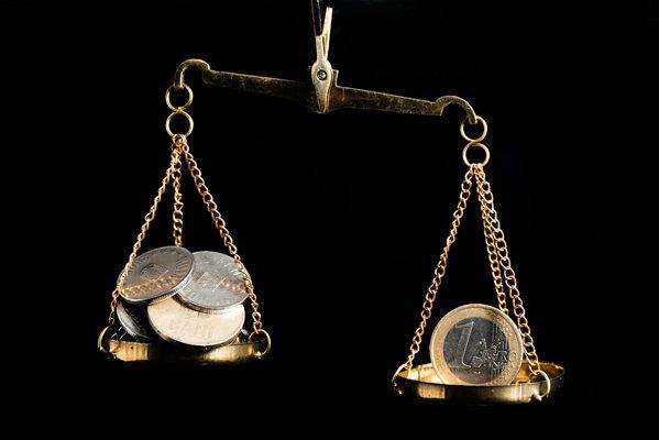 Bani euro lei