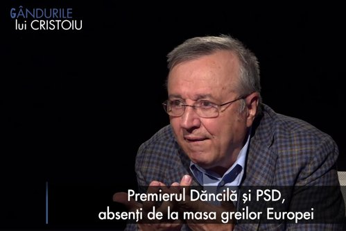 """INTERVIU INTEGRAL """"Gândurile lui Cristoiu"""": Dacă aş fi în locul sistemului, aş lucra ca PSD să nu ia un scor mare / USR-PLUS, în frunte cu Cioloş, se pot considera un eşec / Un Băsescu europarlamentar ar da mari dureri de cap chiar Uniunii Europene"""