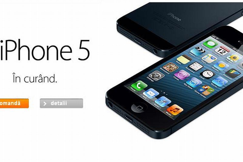 IPHONE 5 ÎN ROMÂNIA: oferte PREŢ IPHONE 5 la VODAFONE, ORANGE, COSMOTE, unde se face PRECOMANDĂ pentru noul IPHONE de la APPLE