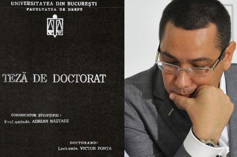Ministerul Educaţiei a albit pe şest cazierul universitar al lui Victor Ponta. De ce nu au fost luate în seamă două verdicte de PLAGIAT. EXCLUSIV
