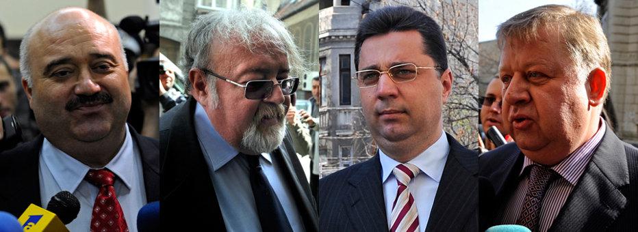 Cătălin Voicu va face 7 ani de închisoare, iar Marius Locic - 4 ani. Costiniu şi Căşuneanu au primit 4 ani cu suspendare. SENTINŢA ESTE DEFINITIVĂ
