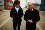Preşedintele Traian Băsescu, ghid pentru CNN în portul Constanţa, începând cu 23 mai